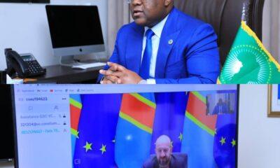 RDC: Félix Tshisekedi et Charles Michel échangent par visioconférence sur la tenue du Sommet UE-UA ! 4