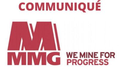 RDC : MMG Kinsevere lance un appel d'offres pour un forage d'exploration sur son site minier 72