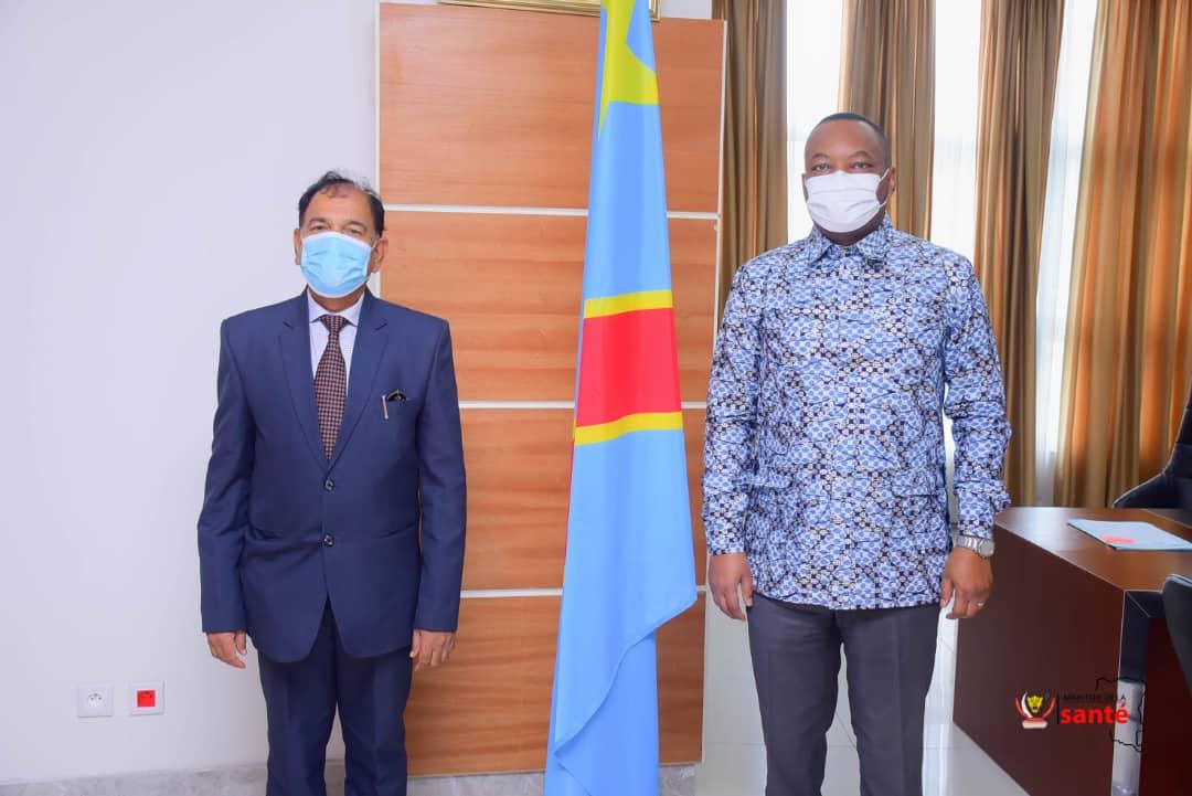 RDC : l'Etat congolais intéressé par deux vaccins indiens contre la covid-19! 1