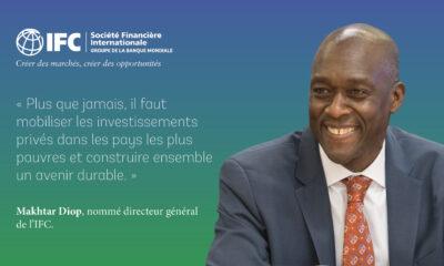 Monde : Makhtar Diop, défenseur de l'Afrique nommé directeur général et vice-président exécutif d'IFC 6