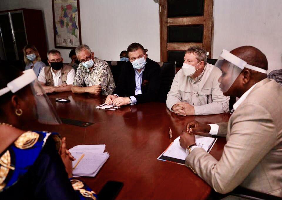 RDC : une mission diplomatique évalue la situation des réfugiés centrafricains au Nord-Ubangi 1