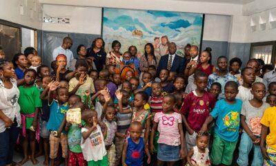 RDC : FBNBank apporte son soutien aux enfants du Centre orphelinat Lisanga ya Kristu 2