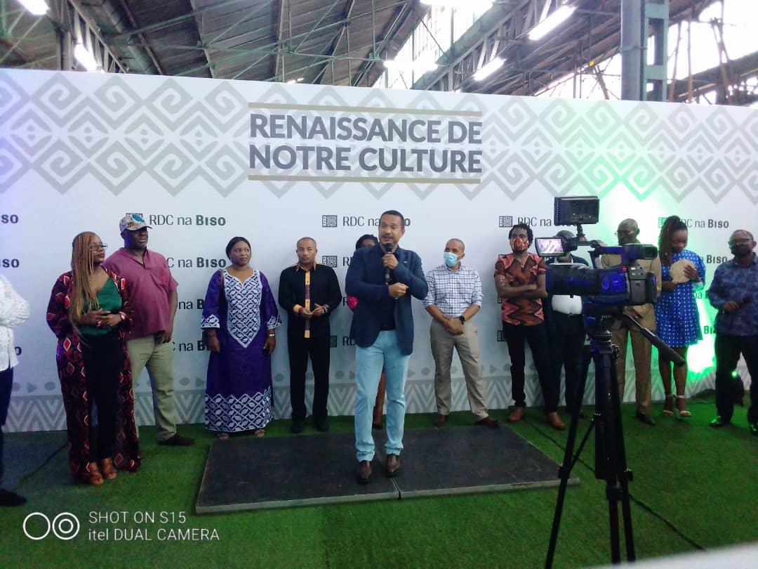 RDC: Luc Gérard Nyafe lance la plateforme «RDC na biso» pour soutenir la renaissance culturelle 1
