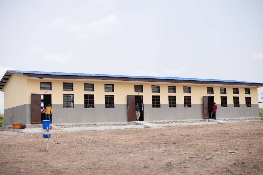 RDC : Denise Nyakeru inaugure deux écoles primaires à Kinshasa 3
