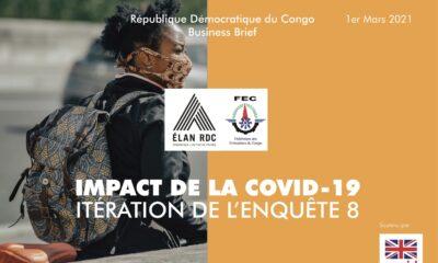 RDC : pour près de 30 % de chefs d'entreprise, les conditions se sont détériorées (Enquete Elan et FEC) 16
