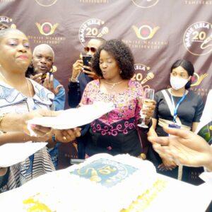 RDC : Denise Nyakeru Tshisekedi parraine les 20 ans de carrière de la journaliste Mamie Ilela!