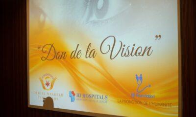 RDC : « don de la vision », une campagne lancée par la Fondation Denise Nyakeru Tshisekedi et HJ Foundation 98